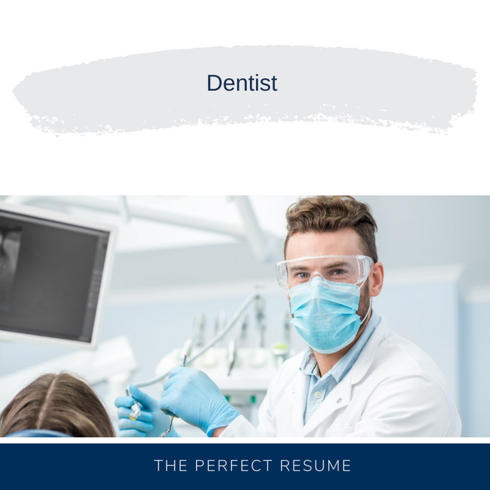 Dentist Resume Writing Services