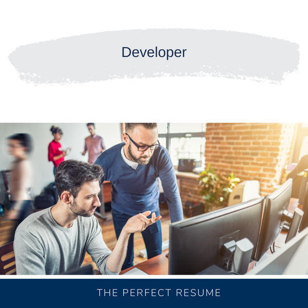 Developer Resume Writing Services