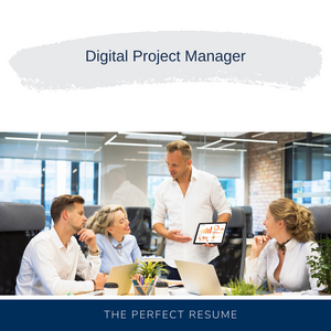 Digital Project Manager Resume Writing Services