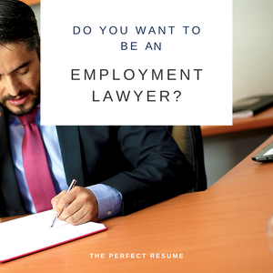Employment Lawyer Resume Writing Services