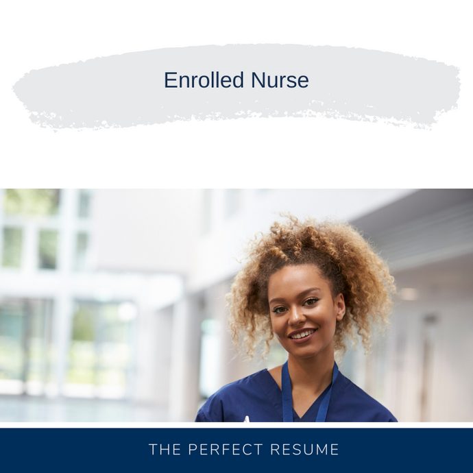 Enrolled Nurse Resume Writing Services