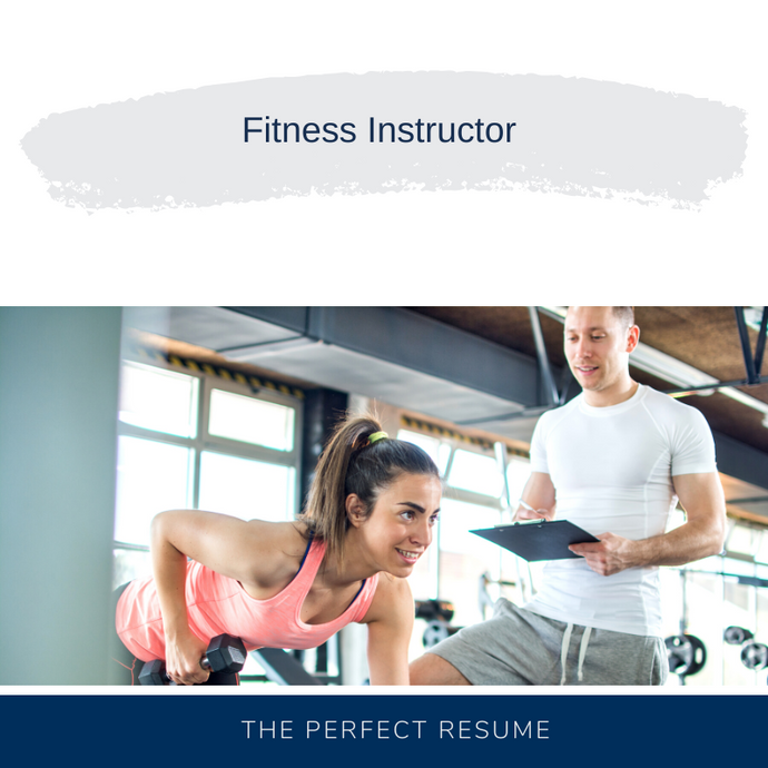 Fitness Instructor Resume Writing Services