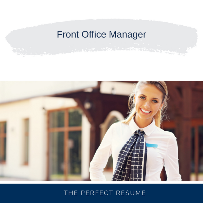 Front Office Manager Resume Writing Services  Duplicate View  More actions