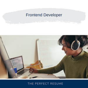 Frontend Developer Resume Writing Services