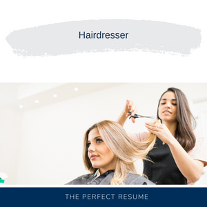 Hairdresser Resume Writing Services