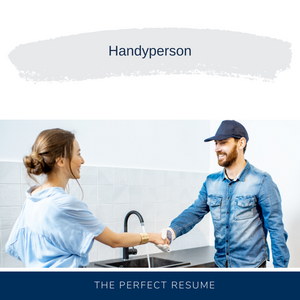 Handyperson Resume Writing Services