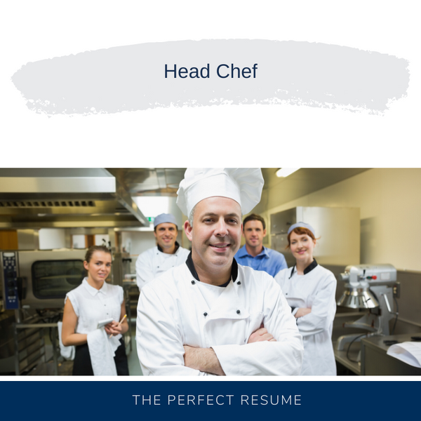 Head Chef Resume Writing Services