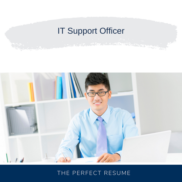 IT Support Officer Resume Writing Services