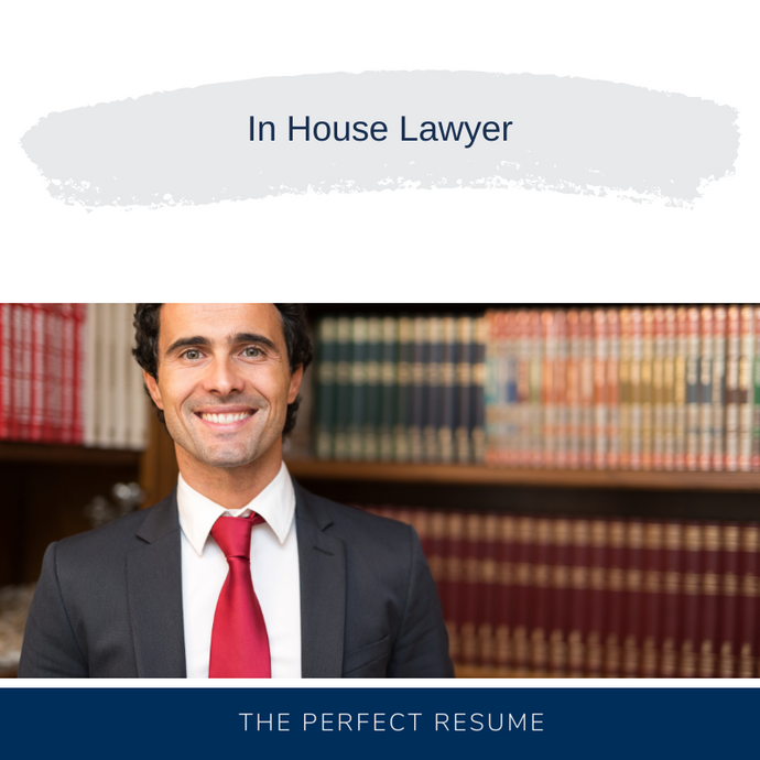 In House Lawyer Resume Writing Services