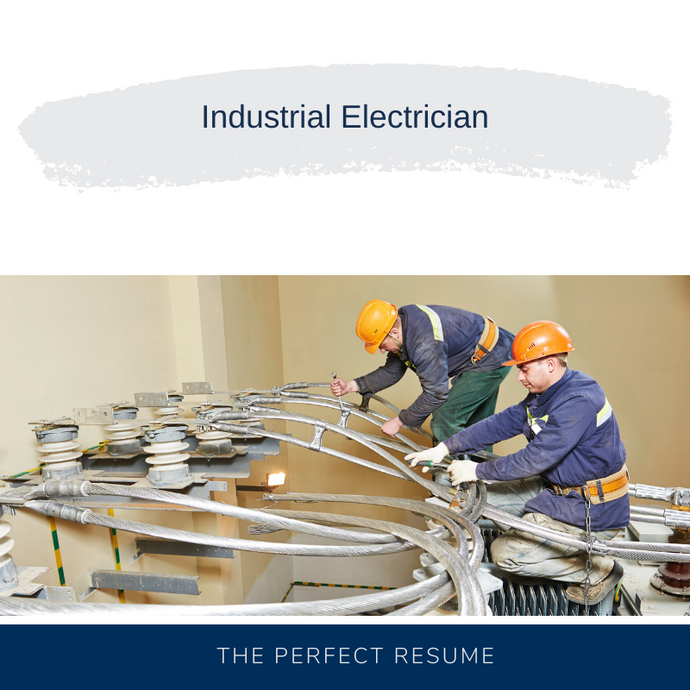 Industrial Electrician Resume Writing Services