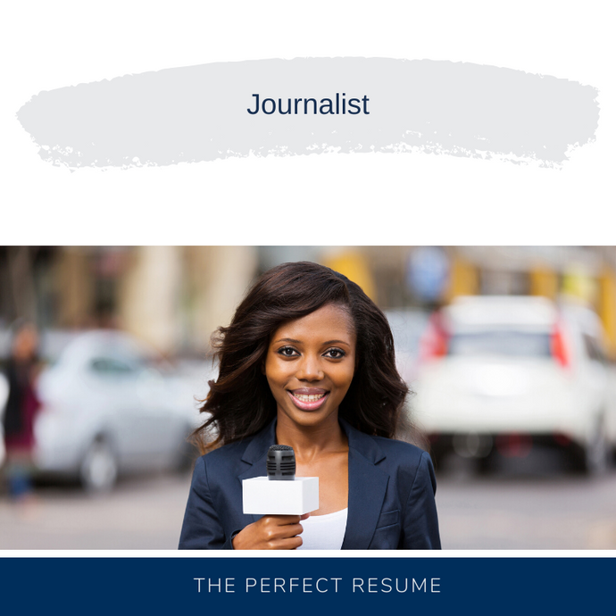 Journalist Resume Writing Services