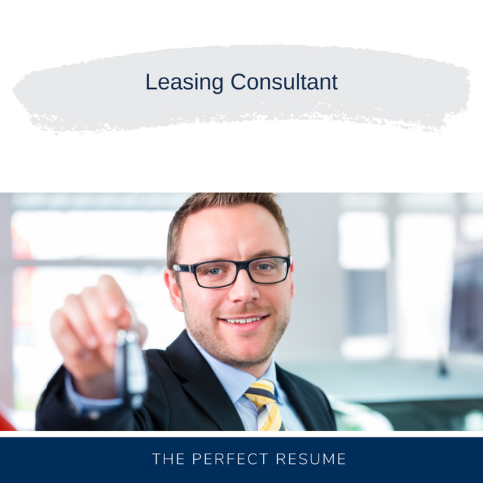 Leasing Consultant Resume Writing Services