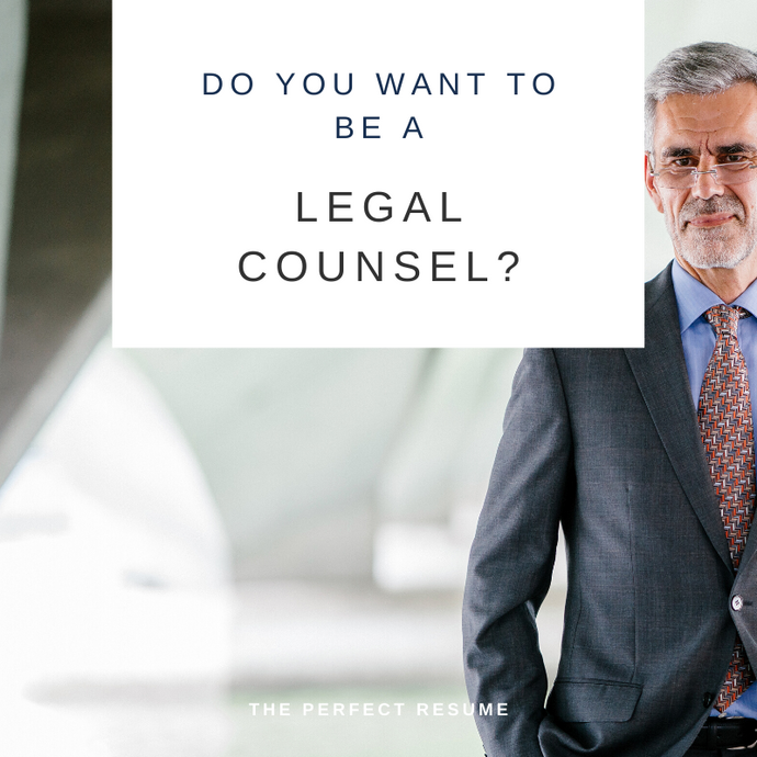 Legal Counsel Resume Writing Services