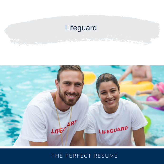 Lifeguard Resume Writing Services