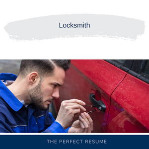 Locksmith Resume Writing Services