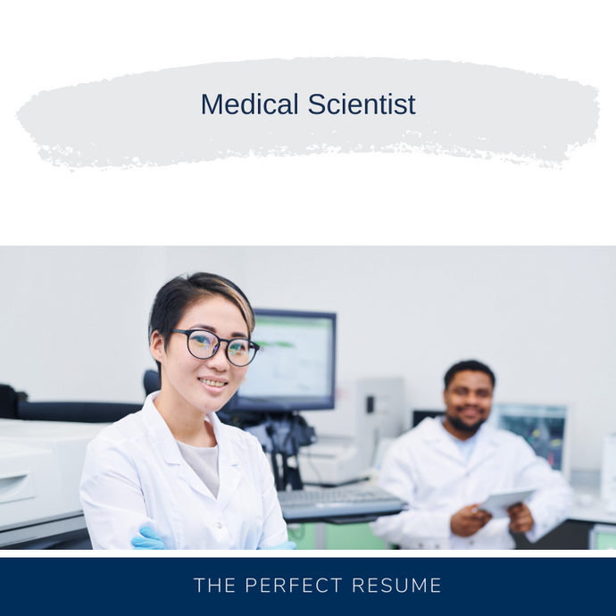 Medical Scientist Resume Writing Services