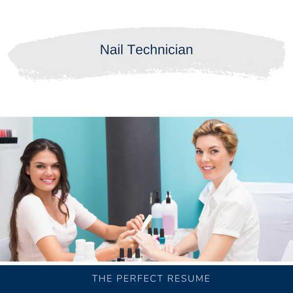 Nail Technician Resume Writing Services
