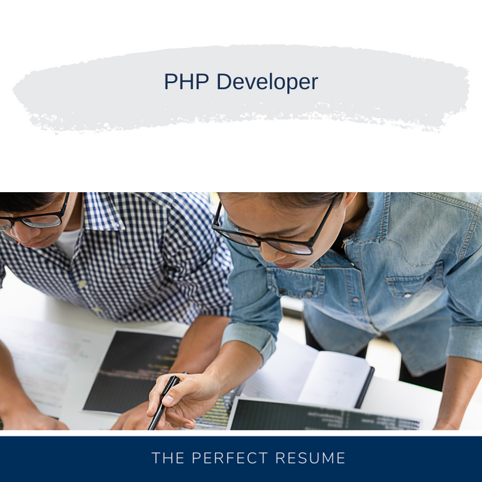 PHP Developer Resume Writing Services
