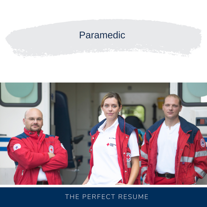 Paramedic Resume Writing Services