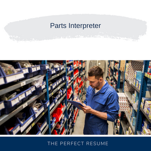 Parts Interpreter Resume Writing Services