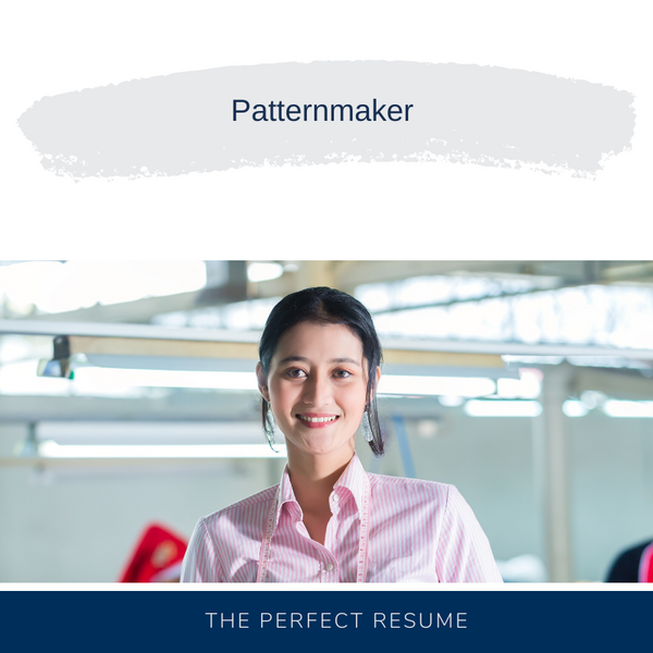 Patternmaker Resume Writing Services