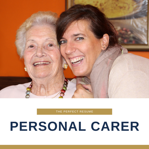 Personal Carer Resume Writing Services