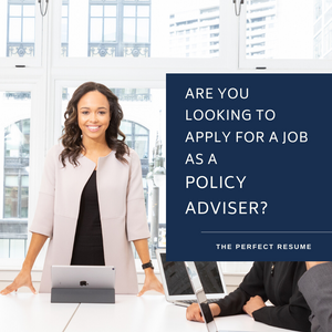 Policy Adviser Resume Writing Services