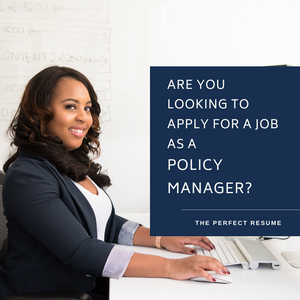 Policy Manager Resume Writing Services