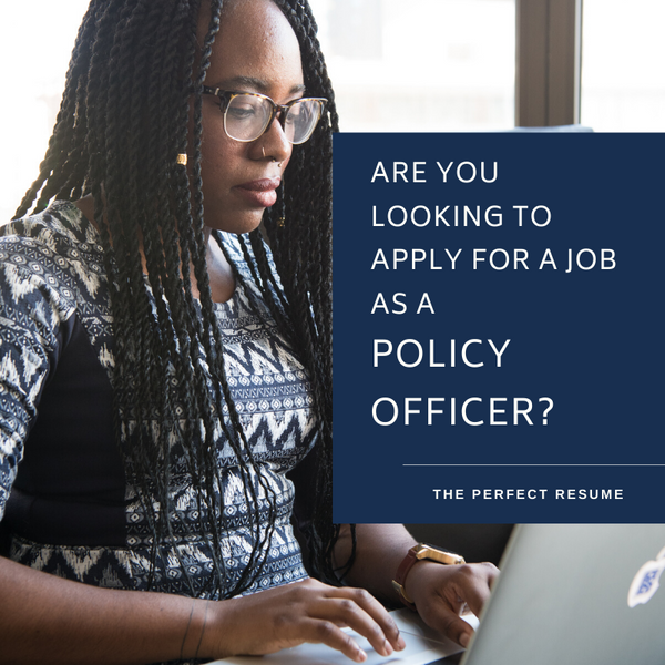 Policy Officer Resume Writing Services