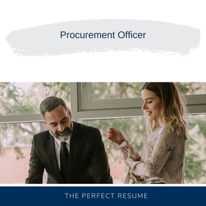 Procurement Officer Resume Writing Services