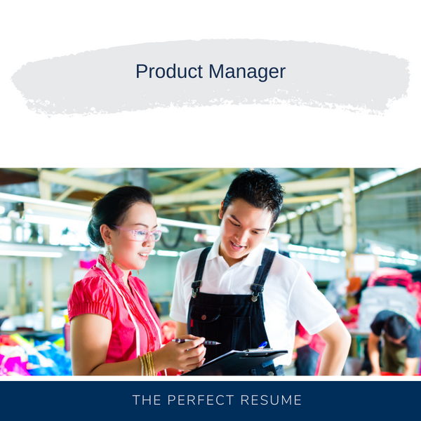 Product Manager Resume Writing Services