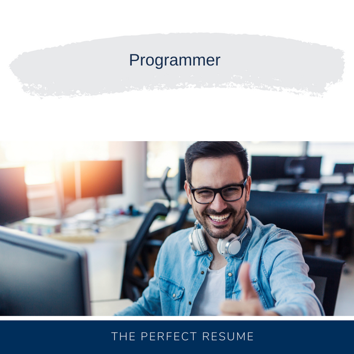 Programmer Resume Writing Services