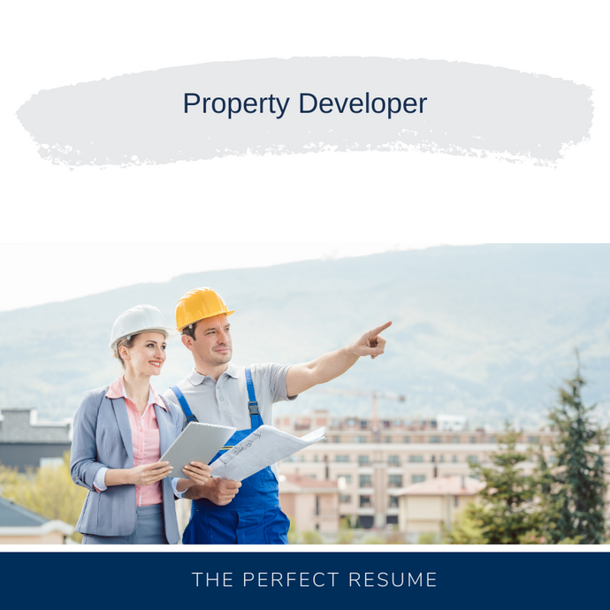 Property Developer Resume Writing Services