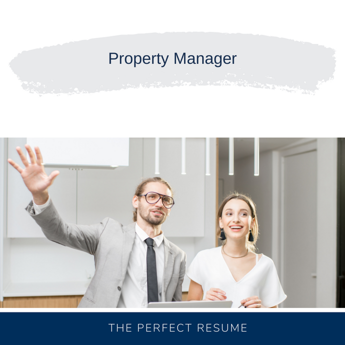 Property Manager Resume Writing Services