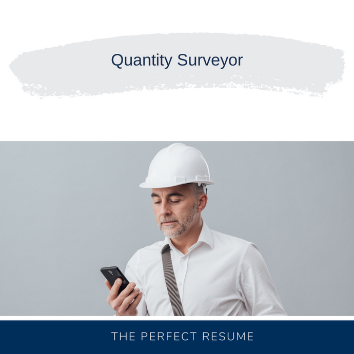 Quantity Surveyor Resume Writing Services