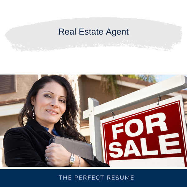 Real Estate Agent Resume Writing Services