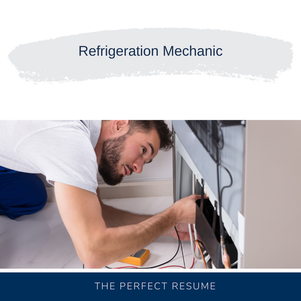 Refrigeration Mechanic Resume Writing Services
