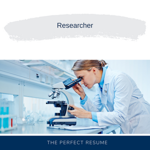 Researcher Resume Writing Services