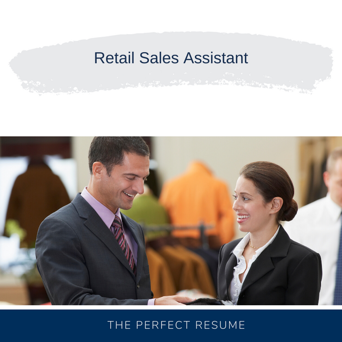 Retail Sales Assistant Resume Writing Services
