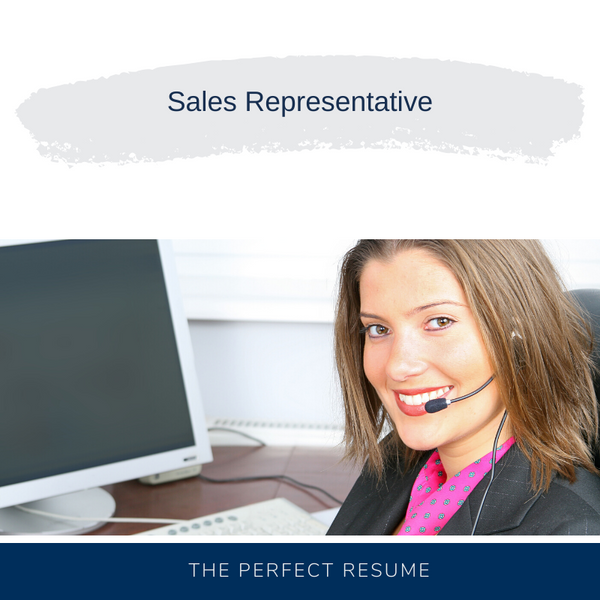 Sales Representative Resume Writing Services