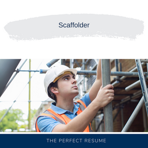 Scaffolder Resume Writing Services