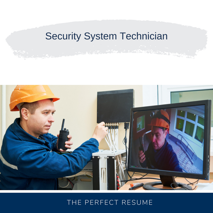 Security System Technician