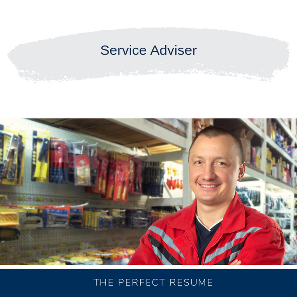 Service Adviser Resume Writing Services