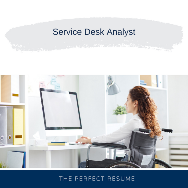 Service Desk Analyst Resume Writing Services