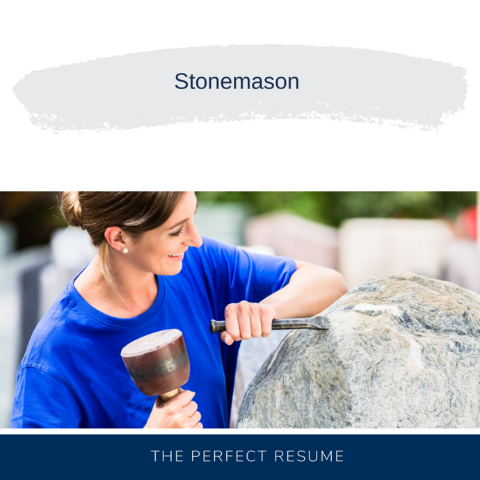 Stonemason Resume Writing Services