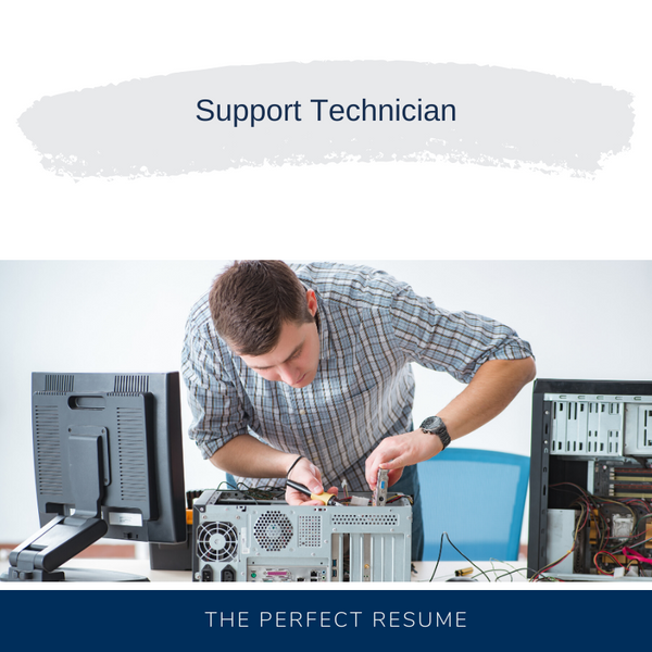 Support Technician Resume Writing Services