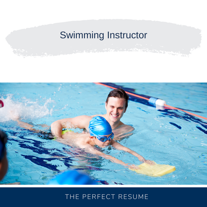 Swimming Instructor Resume Writing Services