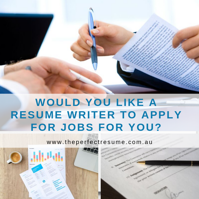 Hiring a Resume Writer to Apply for the Jobs for you!