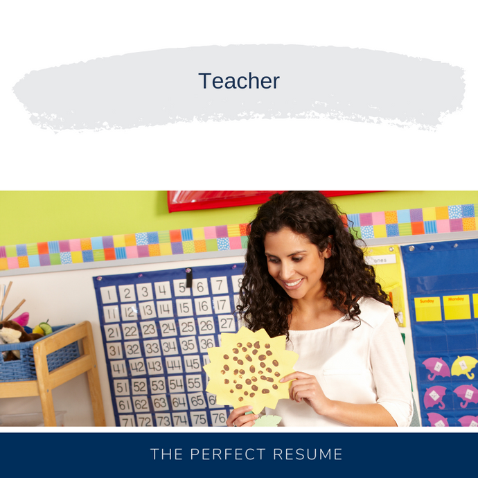 Teacher Resume Writing Services