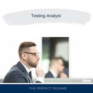 Testing Analyst Resume Writing Services